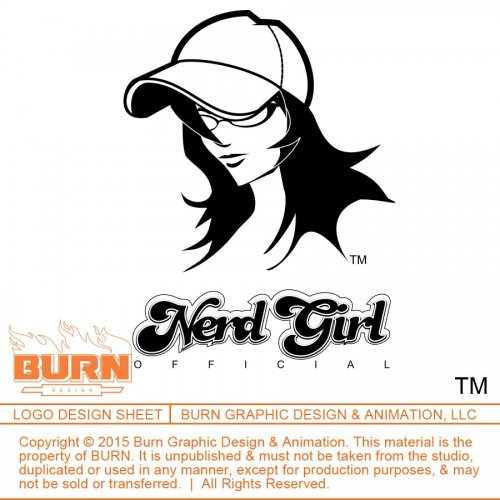 nerd_girl_official_logo_burn